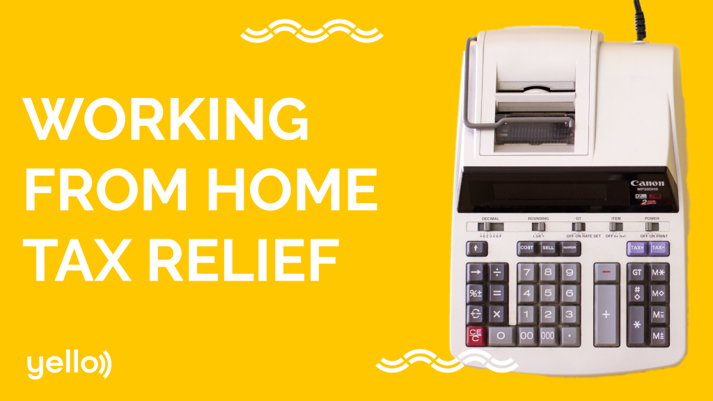 Working from home tax relief