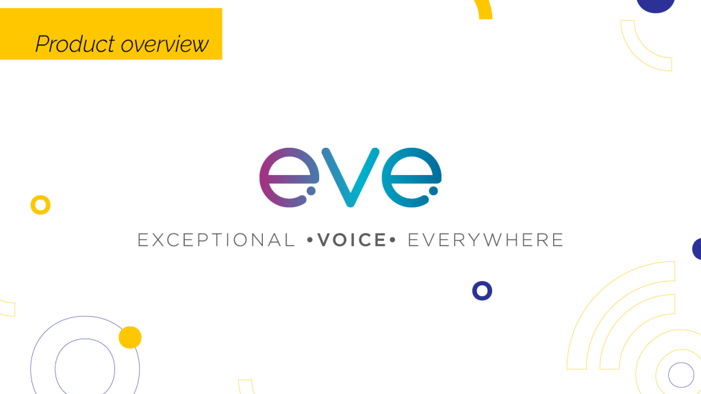 eve - product overview